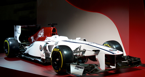 here's the alfa romeo sauber f1